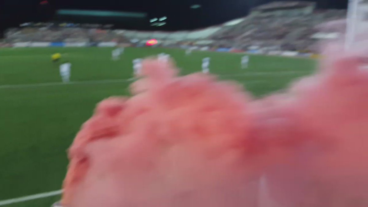 Goal @IndyEleven #cuethesmoke in @The_BYB #NASL https://t.co/xpUojRIL15