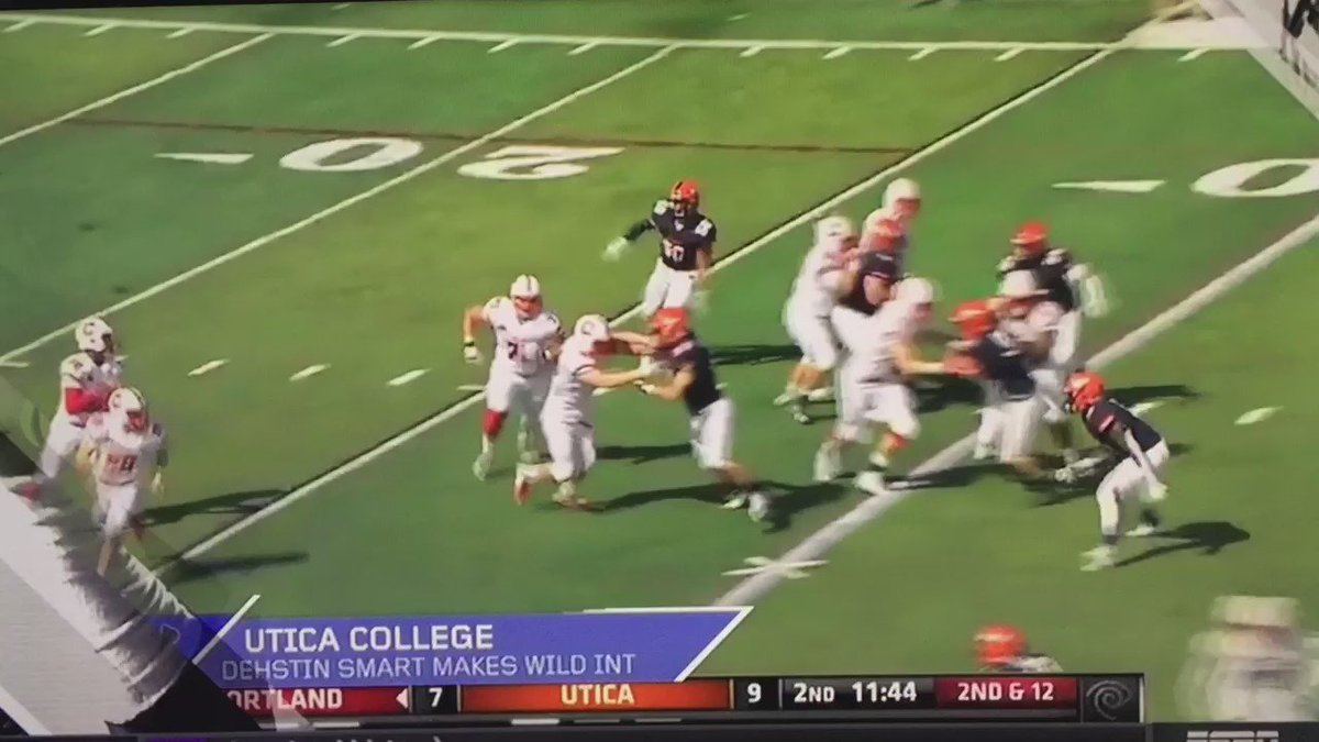 Featured on SportsCenter Week 4 Must See Plays! @Utica_Football https://t.co/NJRF2lxsev