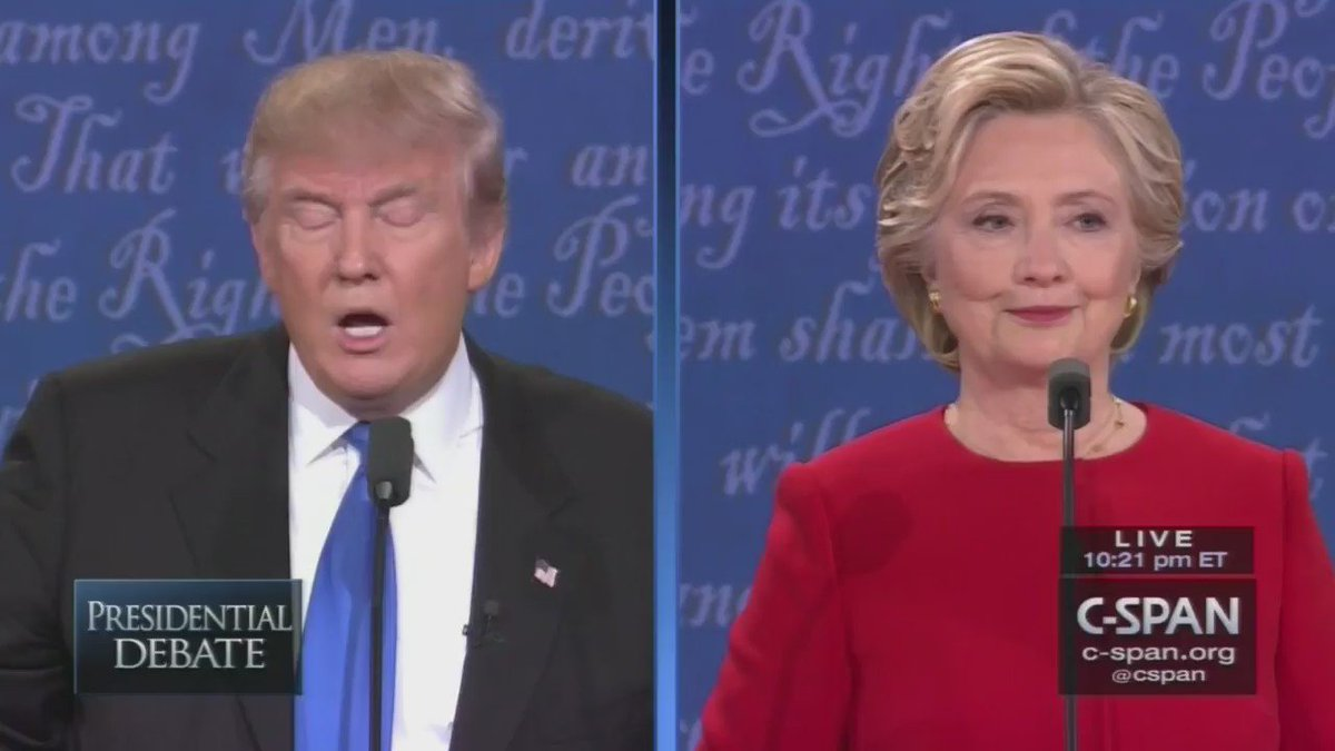 Estas son las 28 veces en que #Trump interrumpió a #Hillary durante el: #Debate #debatenight https://t.co/9g5KginZNy