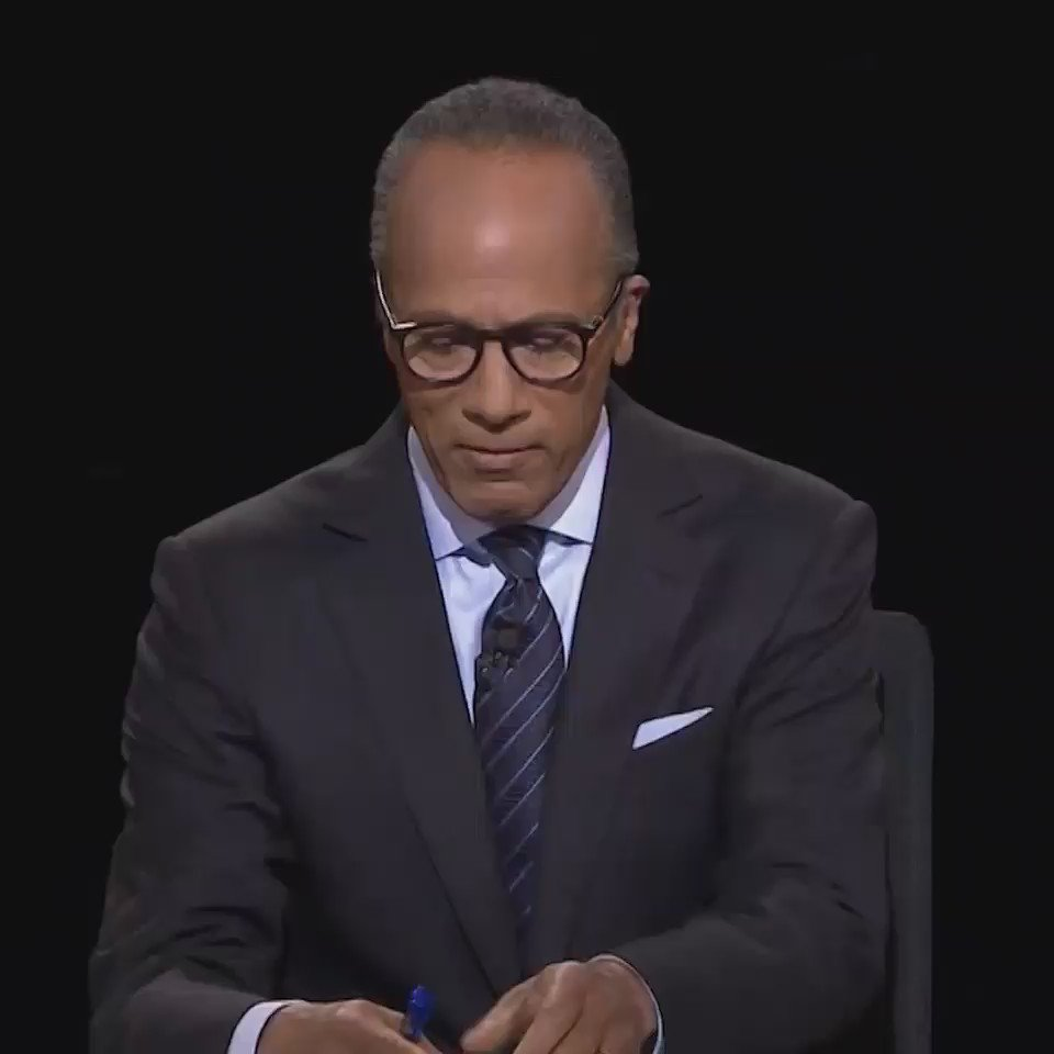supercut of everything Lester Holt said during the debate https://t.co/bZrKnUv14H