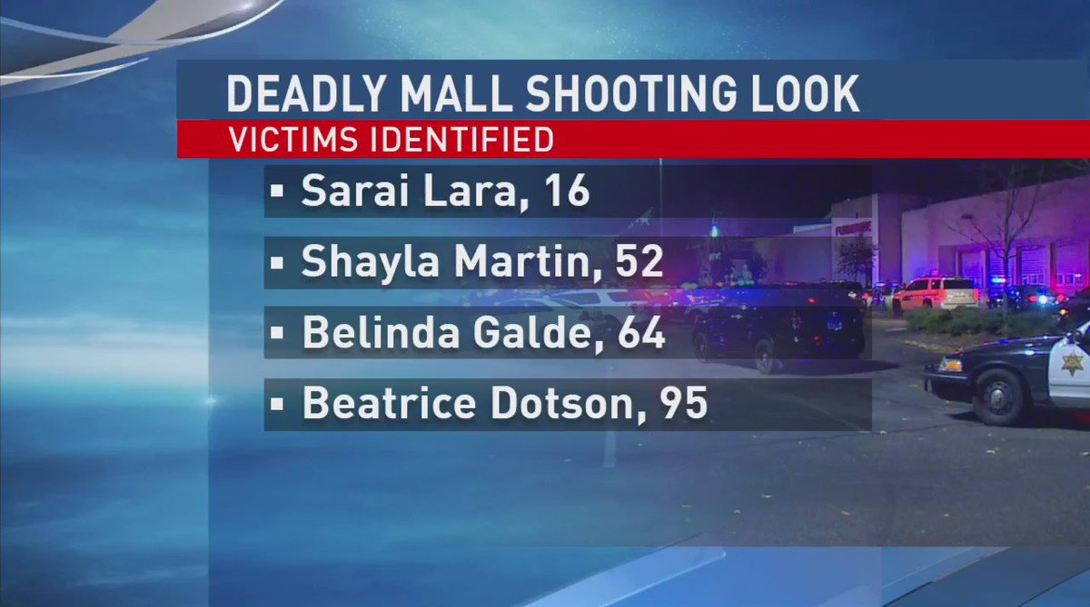 4 Cascade Mall shooting victims officially ID'd by Skagit County Coroner's office