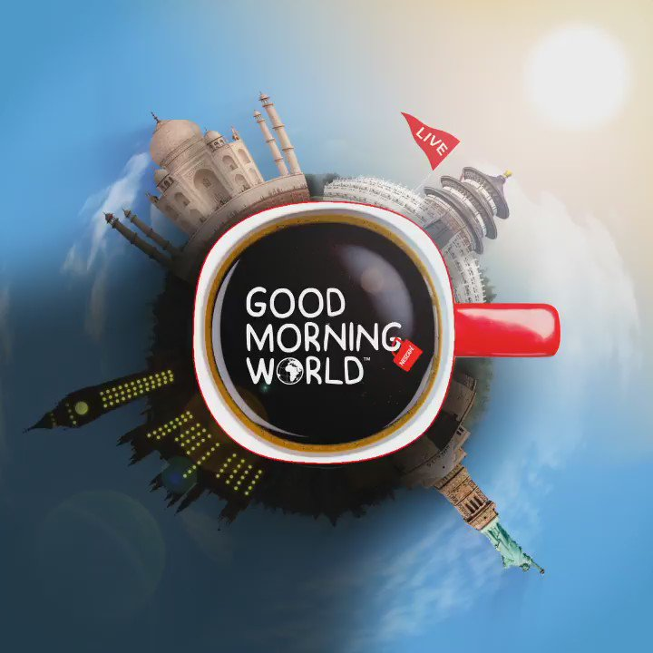 Saturday is International Coffee Day! Wherever you are, watch our 24hr #GoodMorningWorld live broadcast on Facebook! https://t.co/6ETOtGKrX9