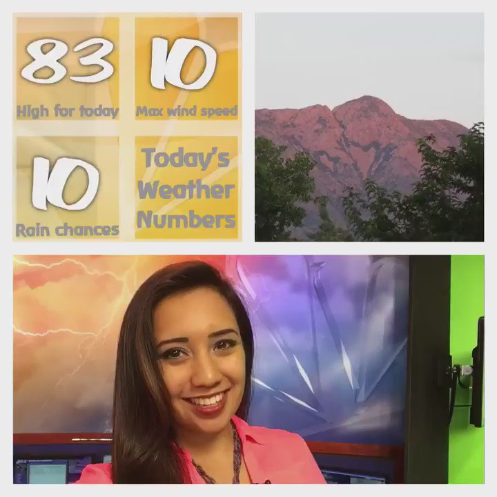 Here are today's weather numbers. @NC9
