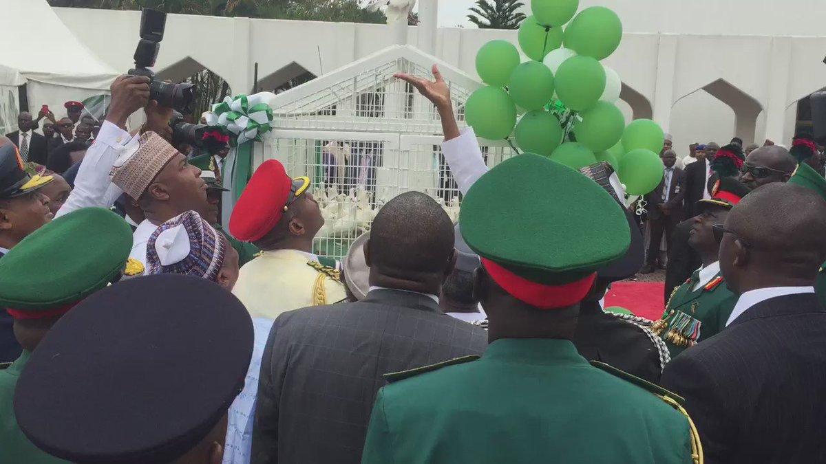I wish all Nigerians a Happy 56th Independence Anniversary.  #NigeriaAt56