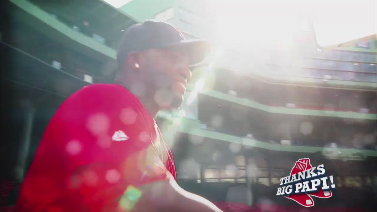 The tributes are pouring in for Big Papi... And here's a look at ours. ThankYouBigPapi WCVB