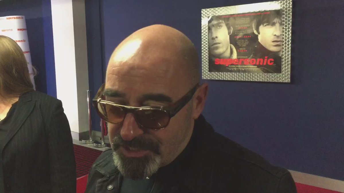 "Paul ""Bonehead"" Arthurs at the Manchester premiere of Oasis film #Supersonic https://t.co/aPbxlPLQWG"