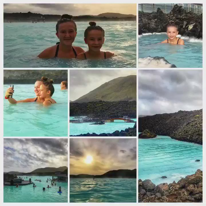 Blue Lagoon in Southwest Iceland = Heaven