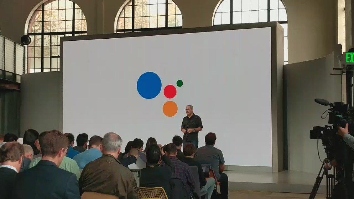 Scott Huffman announces Conversational Actions platform for the #GoogleAssistant #MadeByGoogle https://t.co/Vtw0J00kiX