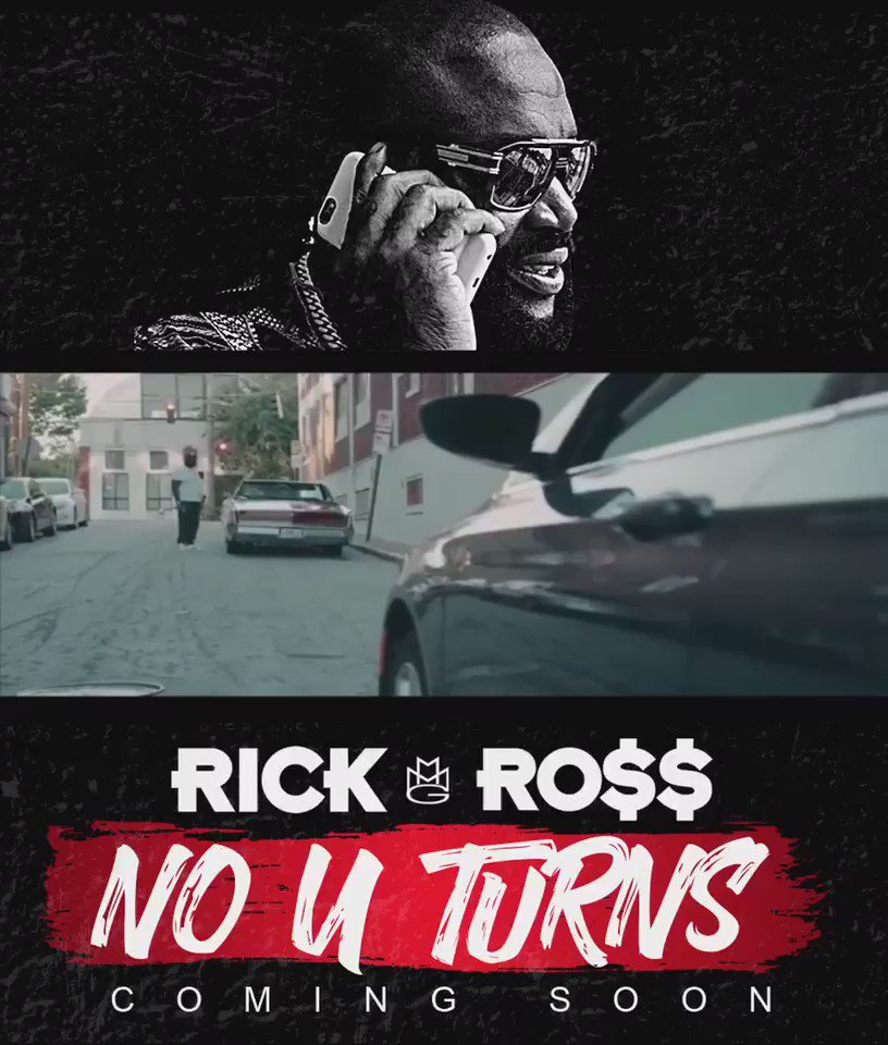 New visuals on the way from @rickyrozay no u- turns https://t.co/GLCdIxwYCL