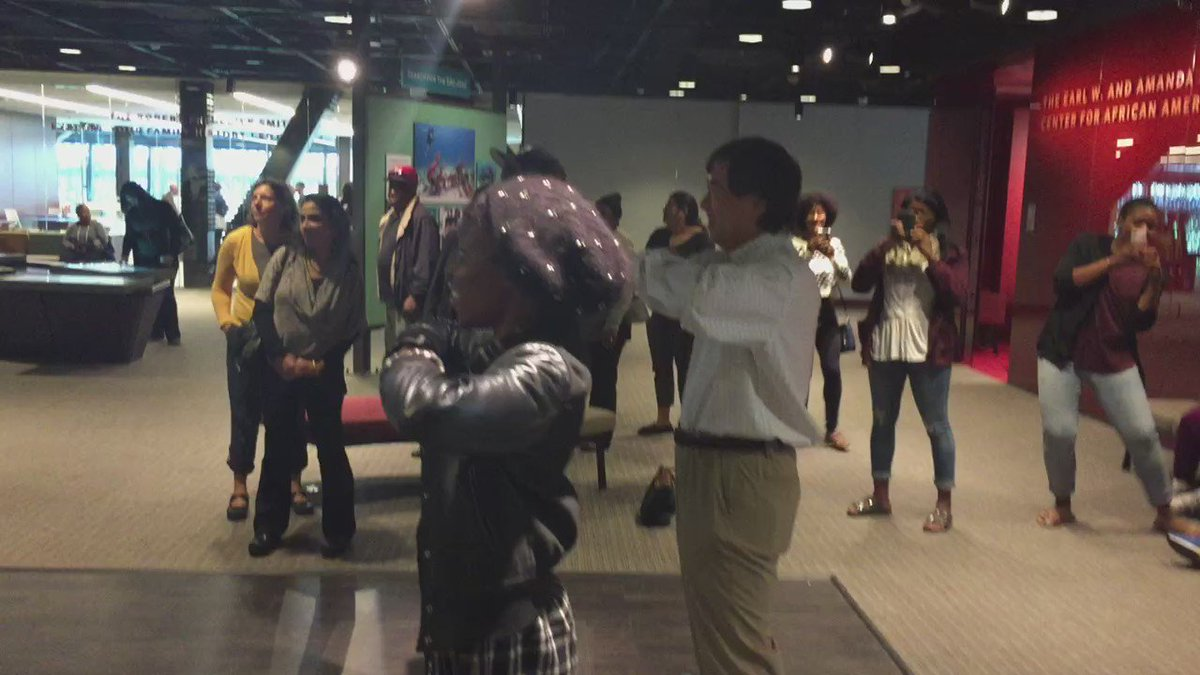 President Loh the stroll master ??? #NMAAHC https://t.co/9ixtiHbprd