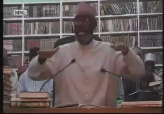 [Part 1/2] Sheikh Albany explaining on bending, prostrating, squatting etc to greet someone is bi'ah. Take note! https://t.co/Anm6GBpyKA