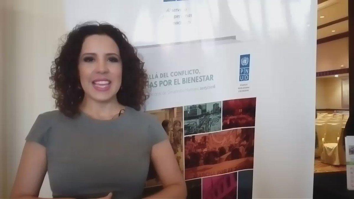 .@BeadelCid nos acompaña en el lanzamiento del nuevo #IDGgt2016 #Masqueconflicto  ¡Solo faltas tú! @indh_guatemala https://t.co/ga9YA3R6bv