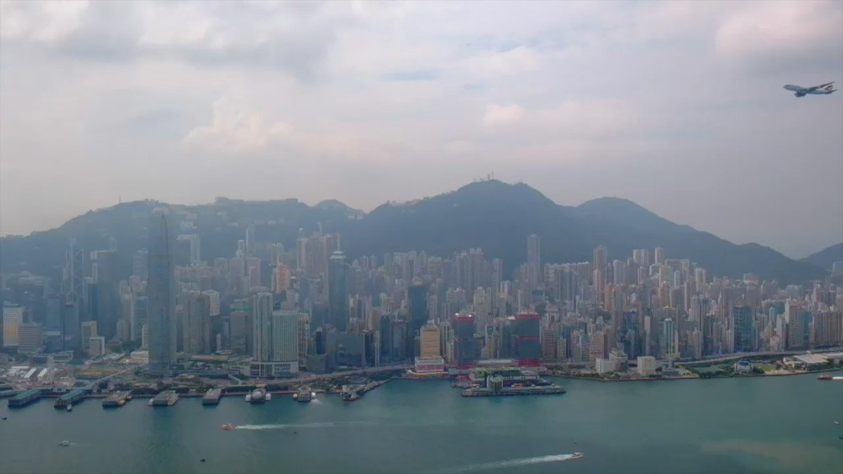 Our beloved #Cathay747 said her last goodbye to Hong Kong today, in a farewell flyover of her home city. https://t.co/1zV5BYJDD6