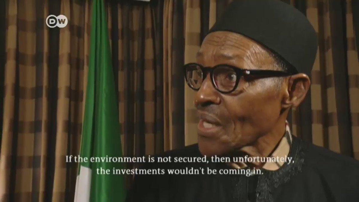 VIDEO | Buhari Doubles Down, Insists His Wife Aisha Belongs to the Kitchen https://t.co/20kj7FGUdf