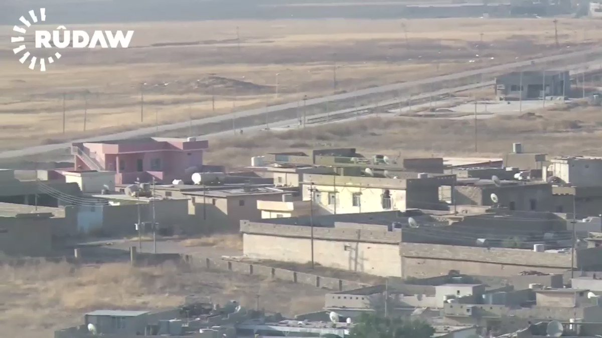 Peshmerga forces captured three villages; Naweran, Barima and Batany northeast of Mosul