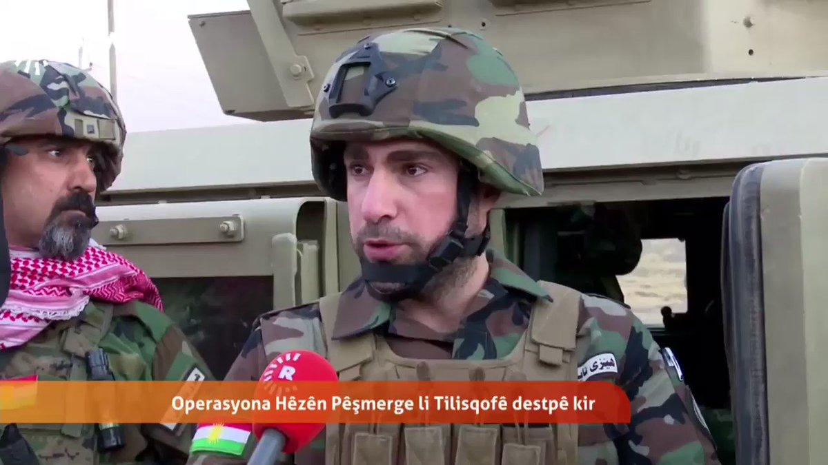 Rawan Barzani, brother of Kurdistan Region's PM is participating in anti-ISIS efforts, says Peshmerga troops fighting on behalf of world.