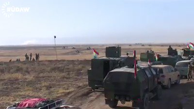 Peshmerga forces continue offensive on Naweran frontline