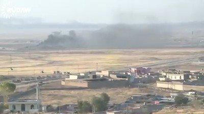 Peshmerga cleared Nawaran area of ISIS bombs and continue progress