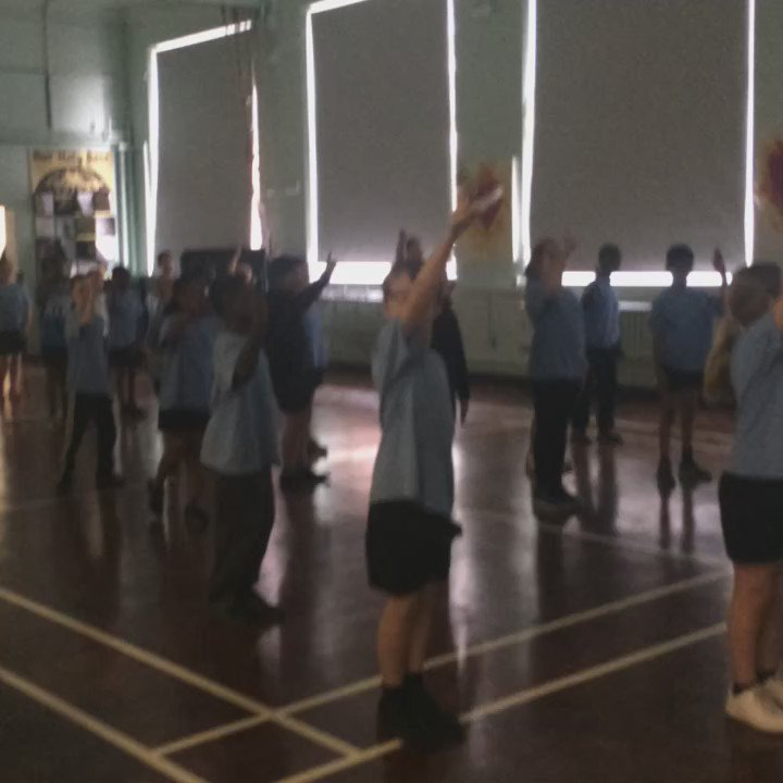 Just dance in year 5 P.E!