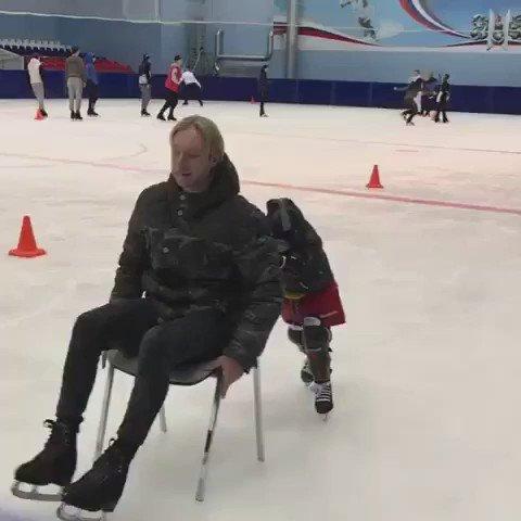 スケート元世界王者E・プルシェンコのいいパパっぷりが凄いwこれは将来有望!