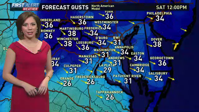 Warm sweaters and PSL's are back in style today: it's cold & windy! @wusa9
