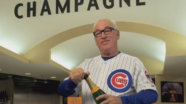 Binny's is proud to be the official Champagne provider of the Chicago @Cubs!  #FlyTheW #LetsGo #W #