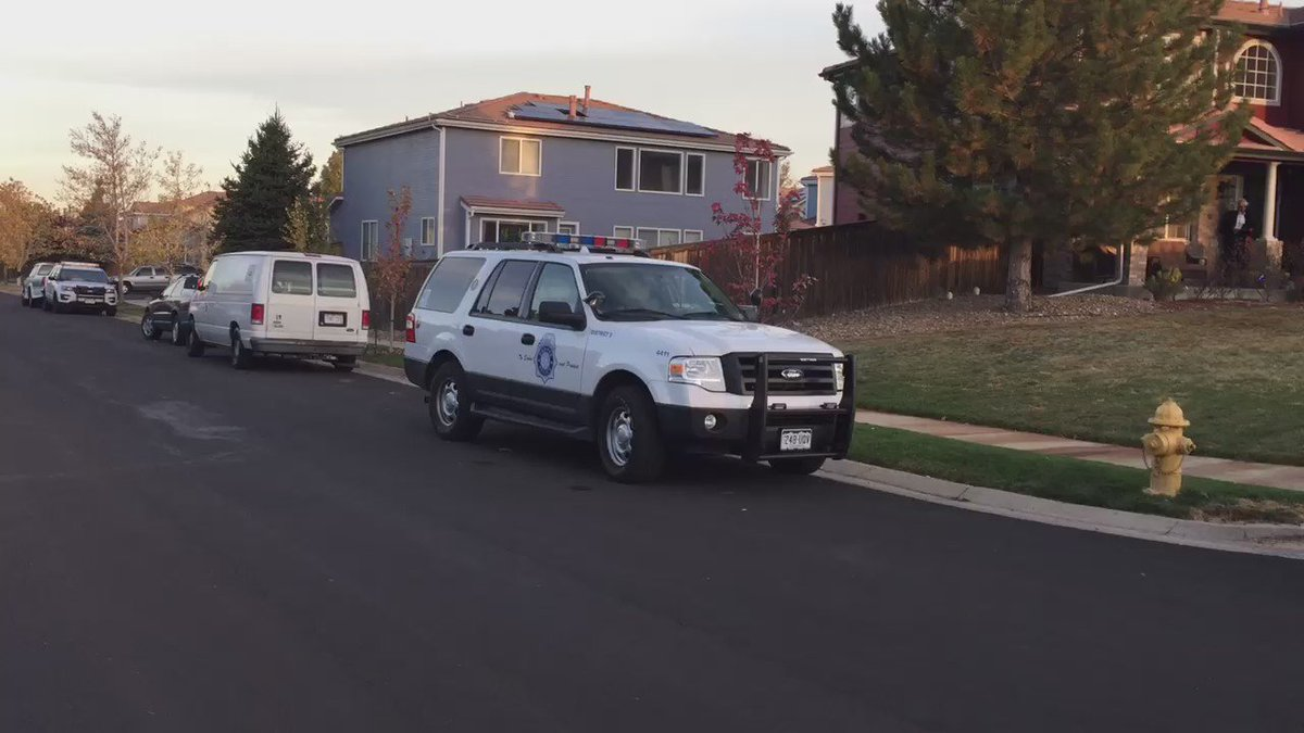 Denver Police say one person taken to the hospital after a shooting near Ireland Court and 47th Place.