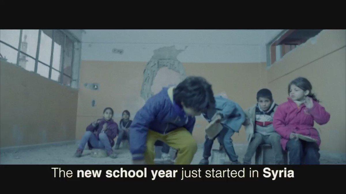 In #Syrië riskeren kinderen hun leven als ze naar school gaan: https://t.co/7zRgZ9WB8Q https://t.co/cD7aB37Y2g