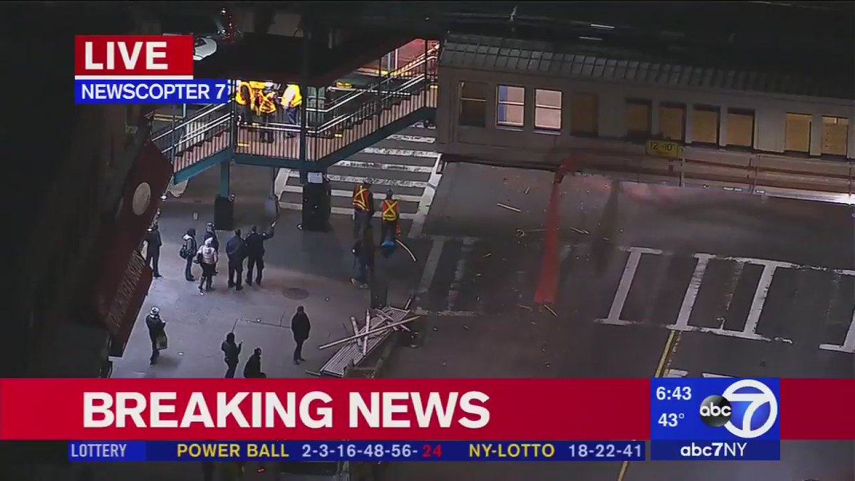 No. 3 subway suspended in East New York