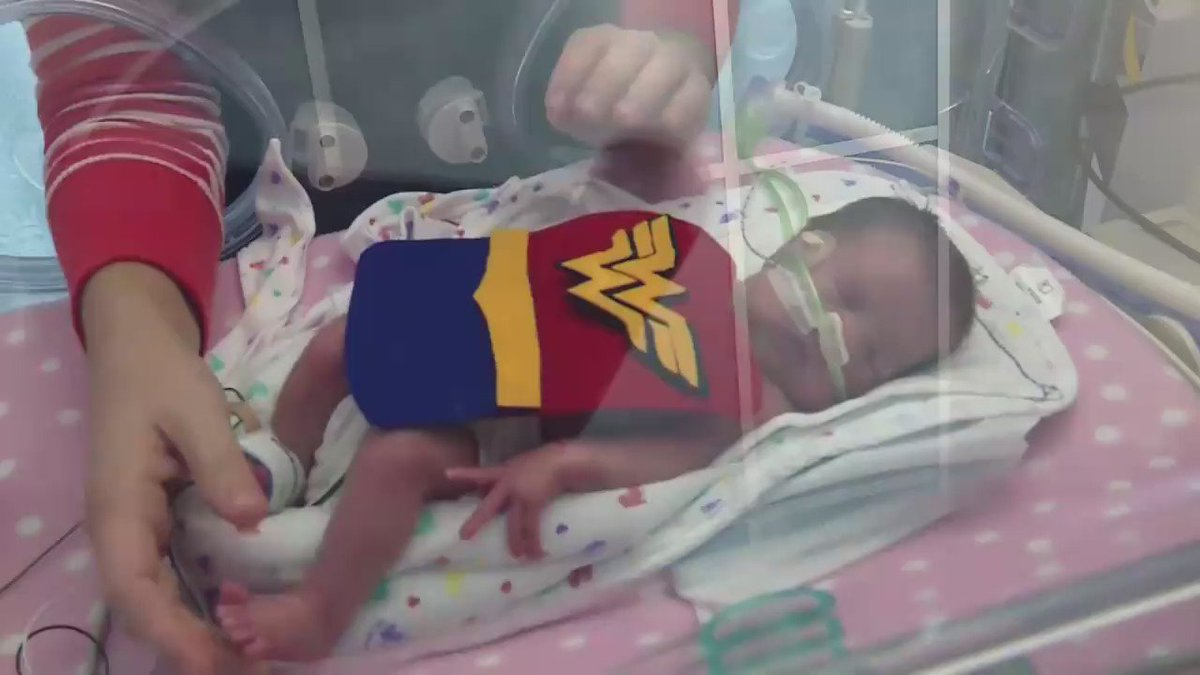 Adorable NICU babies lovingly suited up for Halloween -