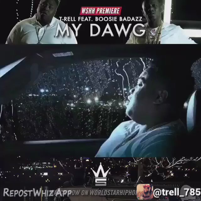 Nobody got my back like MY DAWG ft @BOOSIEOFFICIAL #3millViews https://t.co/2d1xOrYzJP