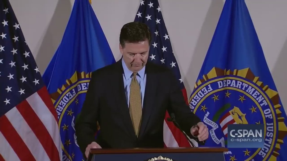 Whoever made this Comey/Clinton video did a great job. #FireComey #LockHerUp #MAGA  https://t.co/aFmXGLWxII