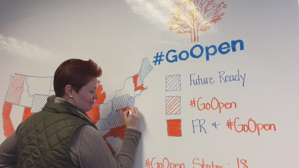 We're pretty excited about 91 districts and 18 states going open! #GoOpen #OER #OpenEd https://t.co/ek4s53Ij5P