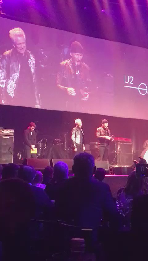 Best. Acceptance Speech. Ever. Congratulations again to @U2 and The Edge - big winners at the #QAwards 2016 https://t.co/ZSDDzJp83C