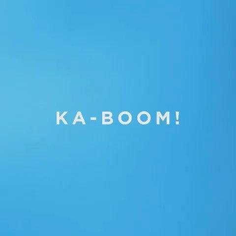 KA-BOOM! take that, hump day! #slantedstudios #20daysofyay #yay #stopmotion