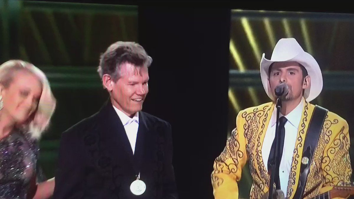 That was AWESOME!! Randy Travis everybody