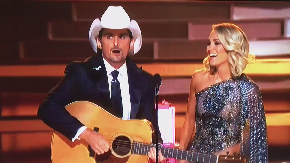 Funniest moment from the #CMAawards50 The Peyton Manning appearance https://t.co/jV38fgnWBM
