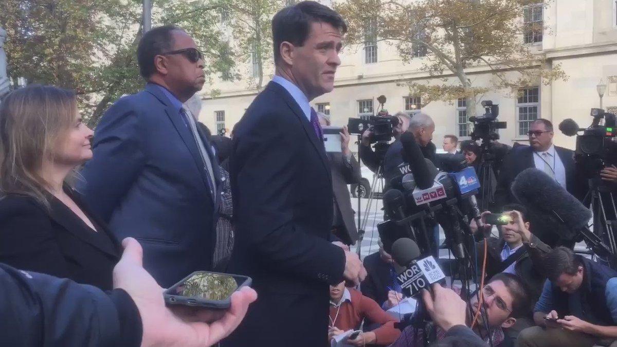 Bill Baroni says he is innocent. After GUILTY verdict on all counts @CBSNewYork bridgegate