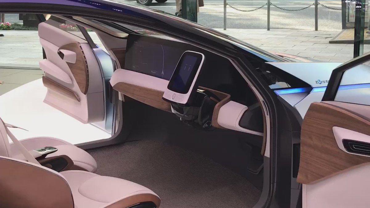 NISSANの自動運転コンセプトカーが男の子ワクワクギミック過ぎる‥! https://t.co/HnFU5W1hUh