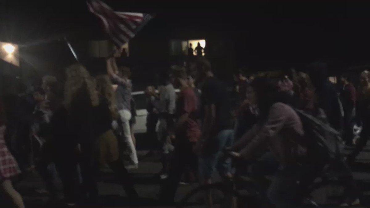 Riots at UCSB because #Trump was #elected #UCSB #Riots #islavista https://t.co/QZYn70EEDa