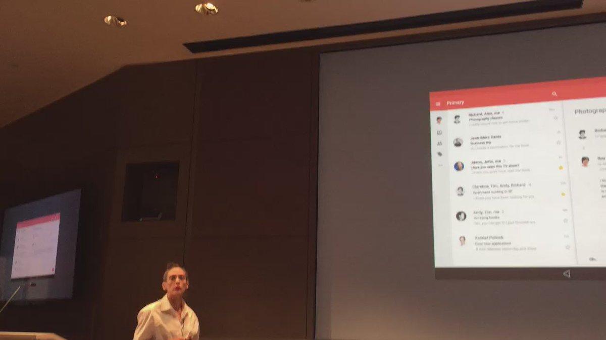 .@rachelbeen Designer @GoogleDesign explains why digital system design is important. #4AsCreateTech https://t.co/CVTUh5uZ1r