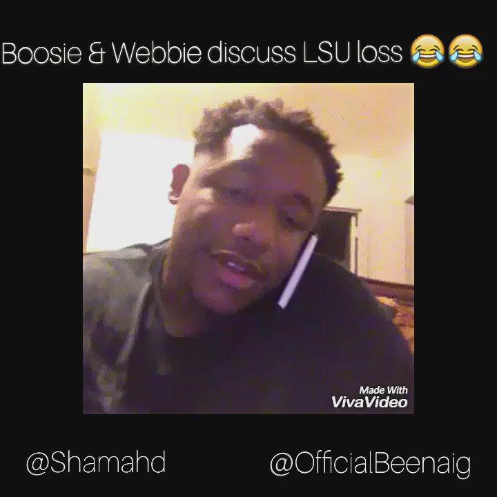Webbie & Boosie discuss @LSUfootball loss