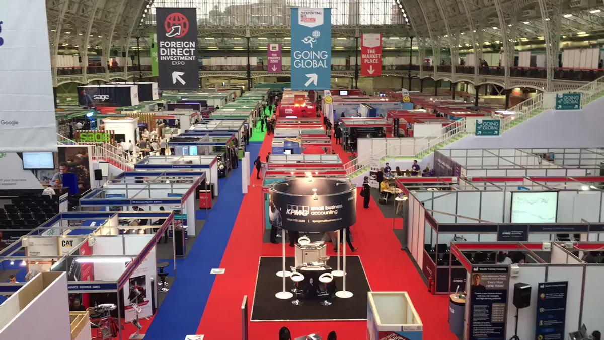 We're officially OPEN! Have a fantastic day everyone! Tweet us highlights throughout ✅ #TBS2016 https://t.co/C6TZsZXfNT