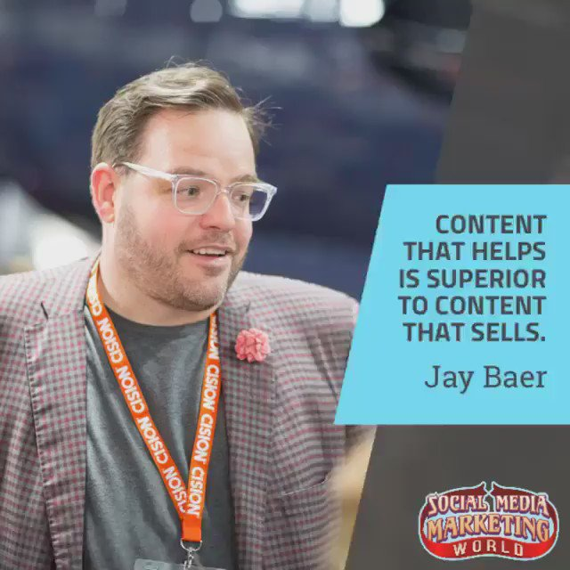 'Content that helps is superior to content that sells.' - @JayBaer htt...