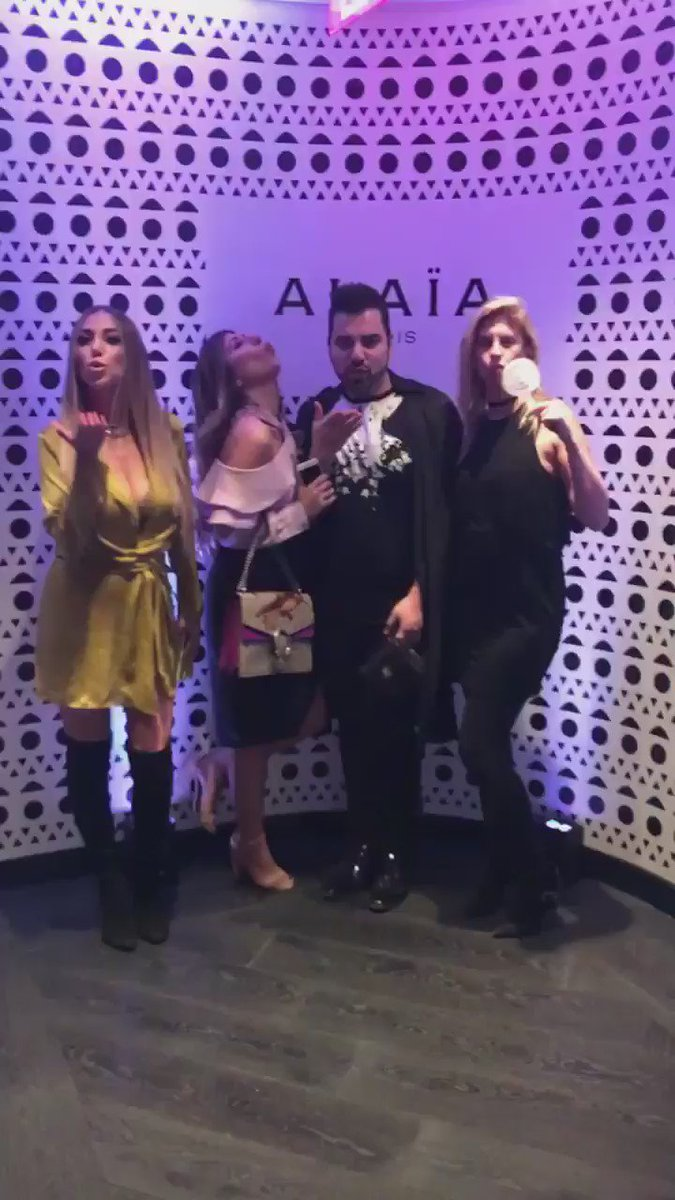 Last night at the ALAIA parfum launch in LA with my fav's @DianaMadison @JackKetsoyan & @AliLasky @AlaiaAzzedine https://t.co/dtnn7u0DP0