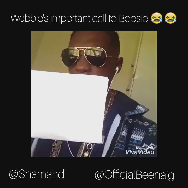 Webbie's important call to Boosie