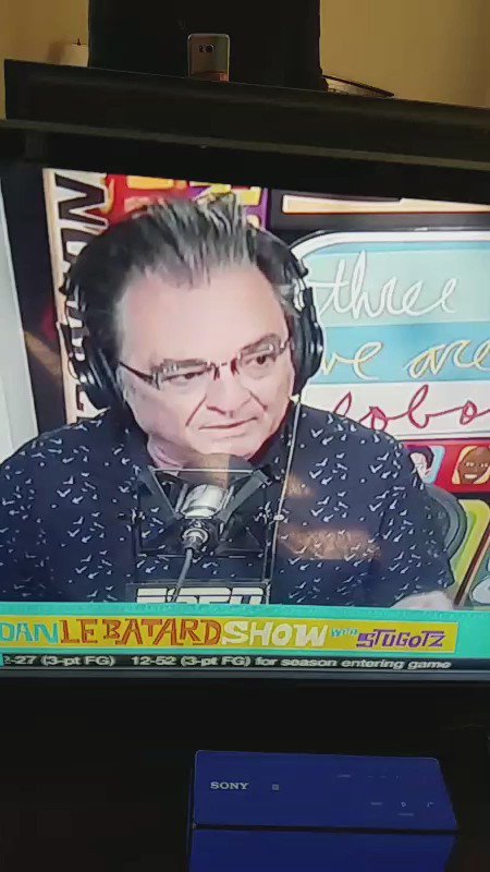 Dawg.... with or without context... this line from Lebatard show this morning...