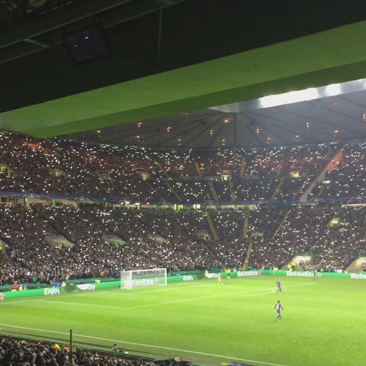 Light show at #Celtic Park. https://t.co/CJ0YPr0LWX