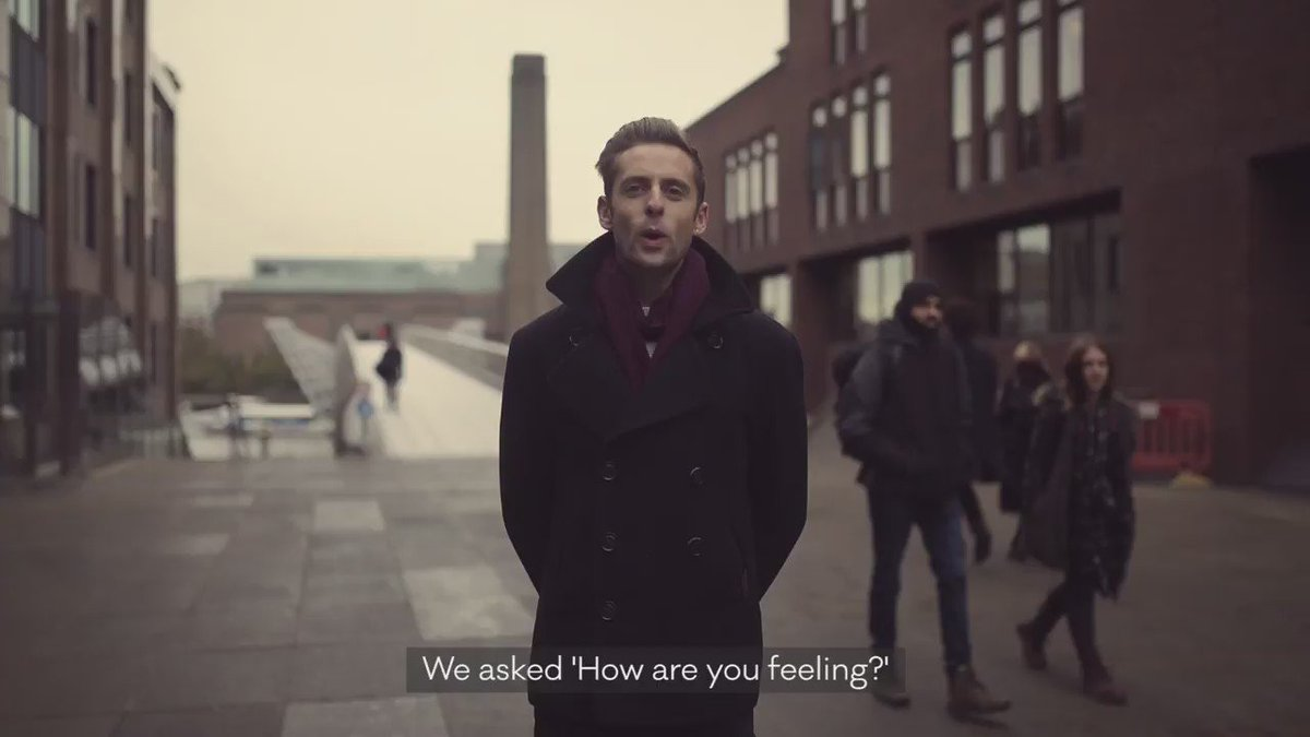 How are you feeling? How are you REALLY feeling? Our new campaign video: https://t.co/CscFmpeSU3