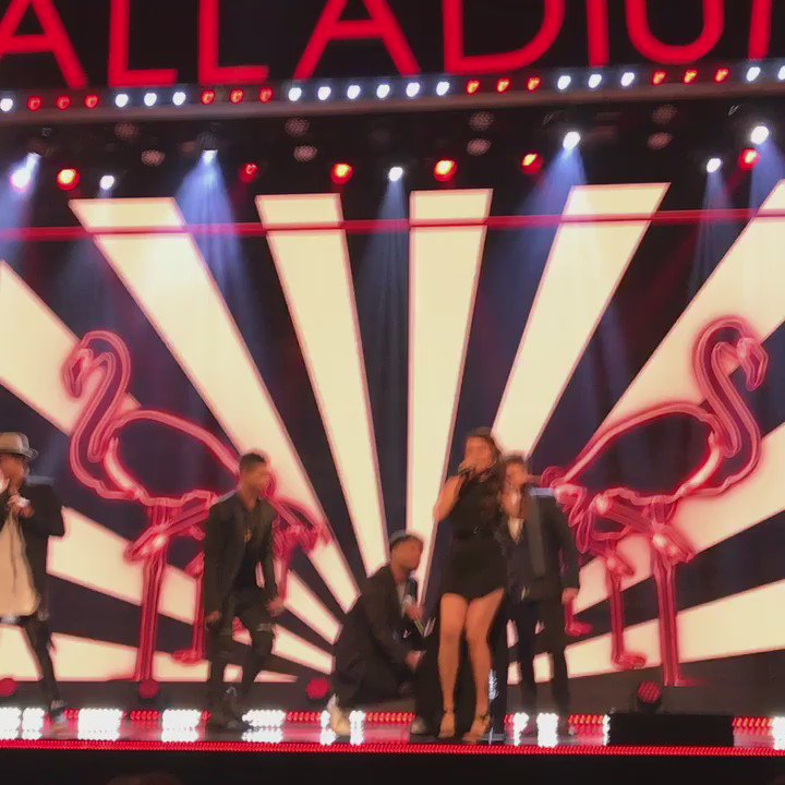 X factor kicking off the show last night for #itvgala at the #londonpalladium https://t.co/5gZGvnNK0t